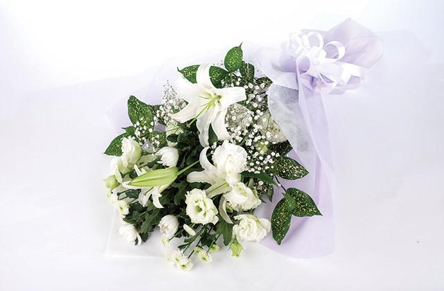 お悔み・お供えのお花イメージ画像